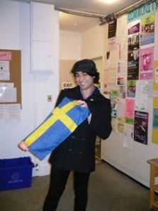 Ehsan lives in Vancouver now, but he's still cheering for Sweden.